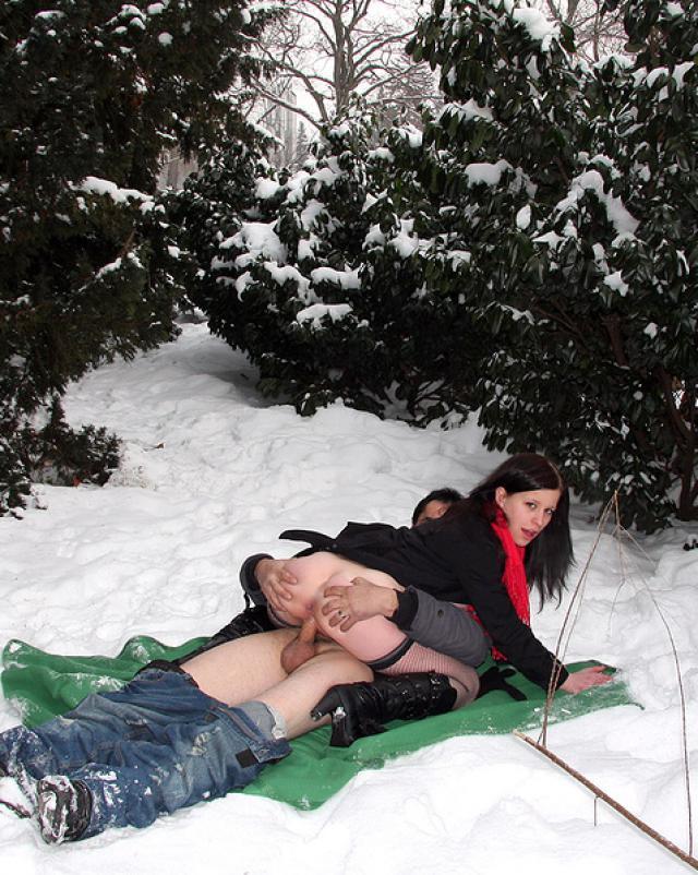 Русский Секс Зимой