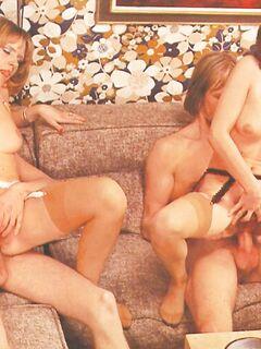 Задорная компания насладилась супер сексом