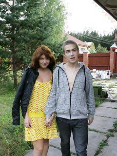 Русские любовники жарились раком на летней даче