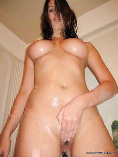 Домашние порно фото голых девушек в ванной