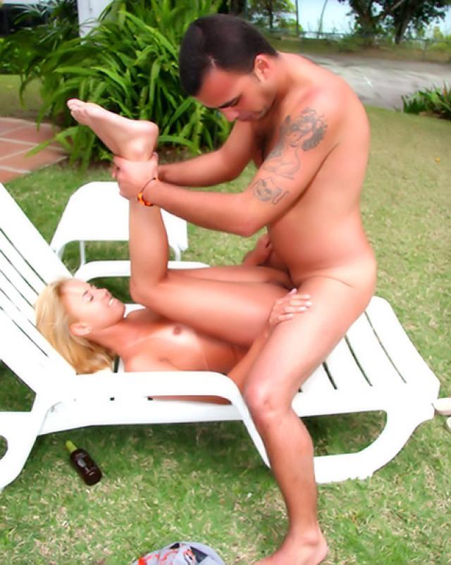 Бразильянка с большой задницей была готова к аналу