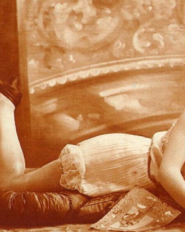 Винтажное порно с роскошными дамами времени царей