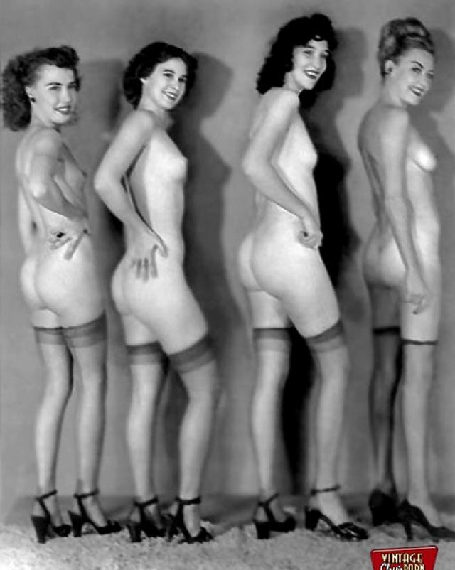 Old vintage nudes