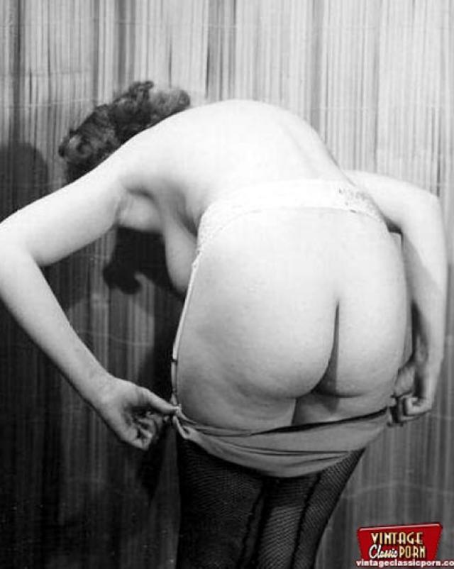 Бесплатное винтажное порно с аппетитными бабами