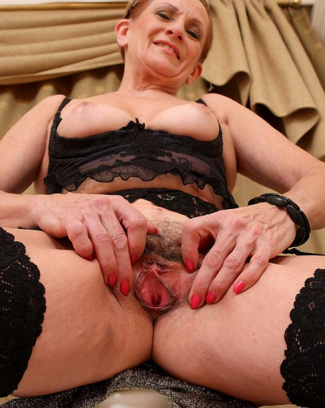 Sixty year old hairy pussy