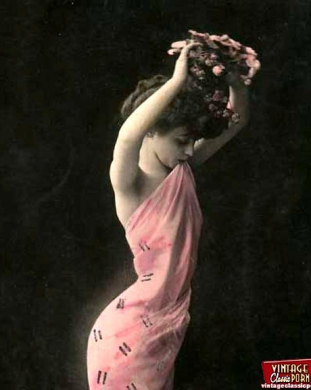 Винтажные шлюхи из эротической коллекции прошлого века