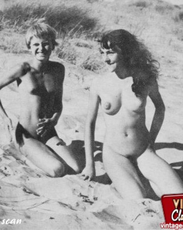 Винтажные фото голых телок