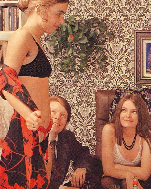 Порно фото ретро оргии