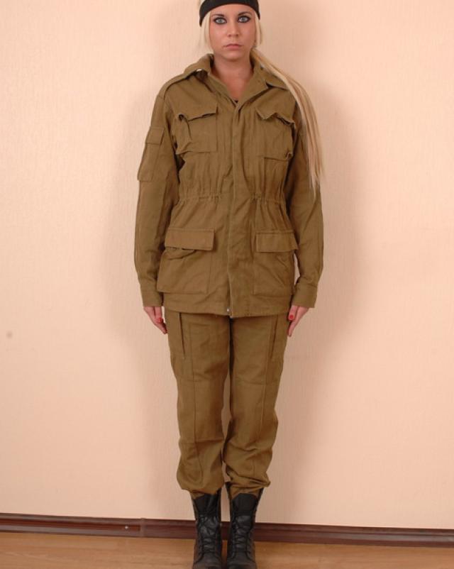 Осмотр девушки в военном госпитале