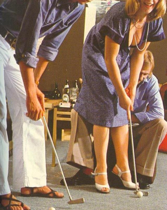 Играют в гольф с письками