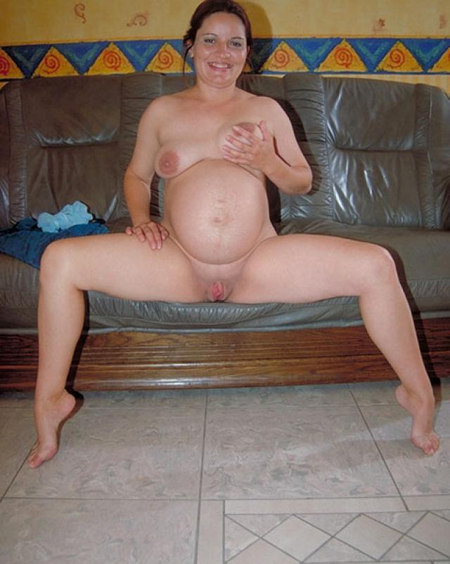 Домашние фото беременной женщины и ее дрочка самотыком