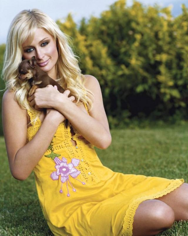 Сексуальные фотографии с блондинкой Пэрис Хилтон