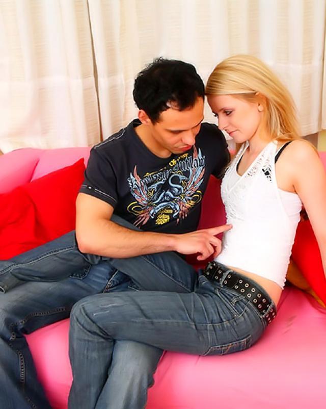 Секс фото горячего секса с блондинкой