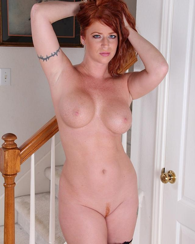 Big Tits Redhead Slut Tarra White Masturbates For You