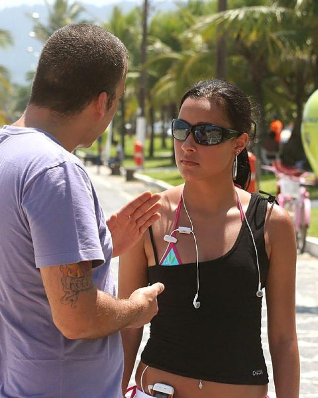Бразильская женщина с огоньком трахнулась верхом