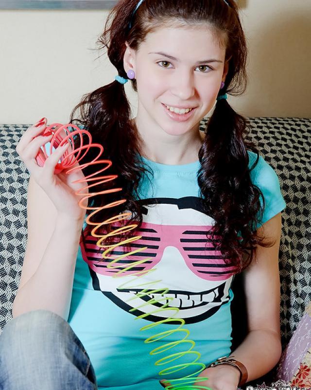 Находчивый студент с большим членом жарил девчонку раком