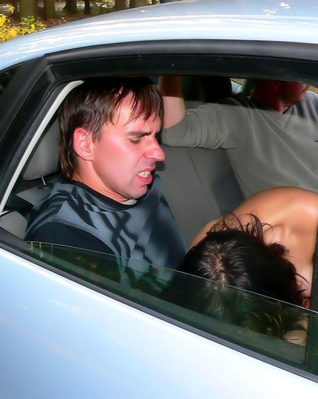 Порево в машине