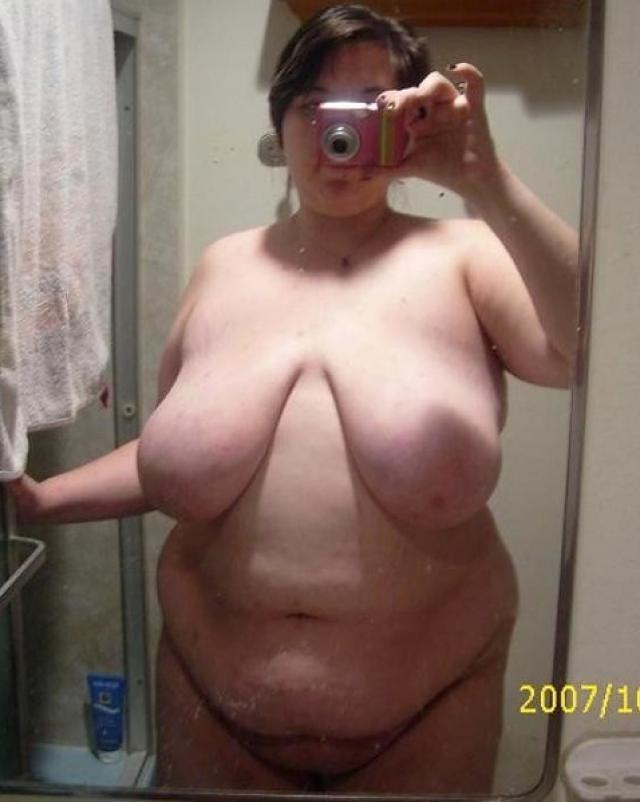 Chubby amateurs have big boobs