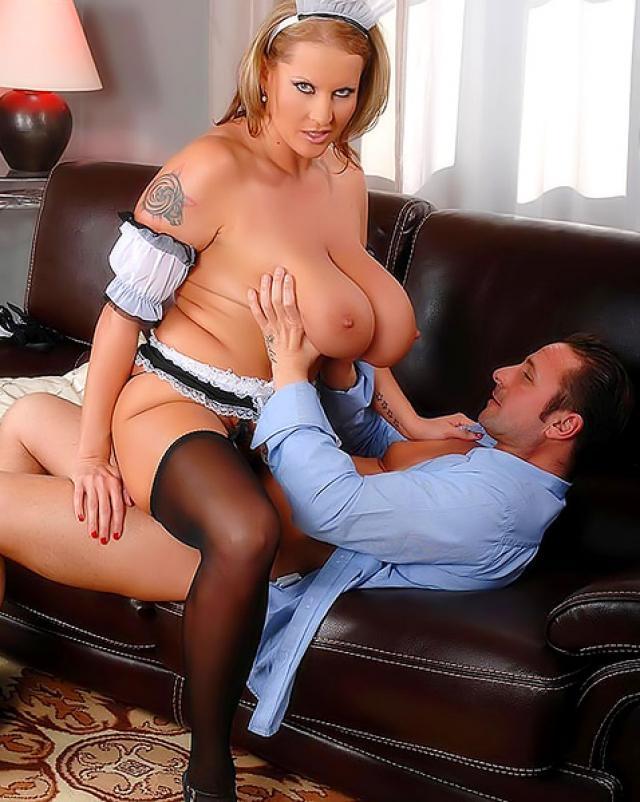 Busty Maid Free Porn Pics