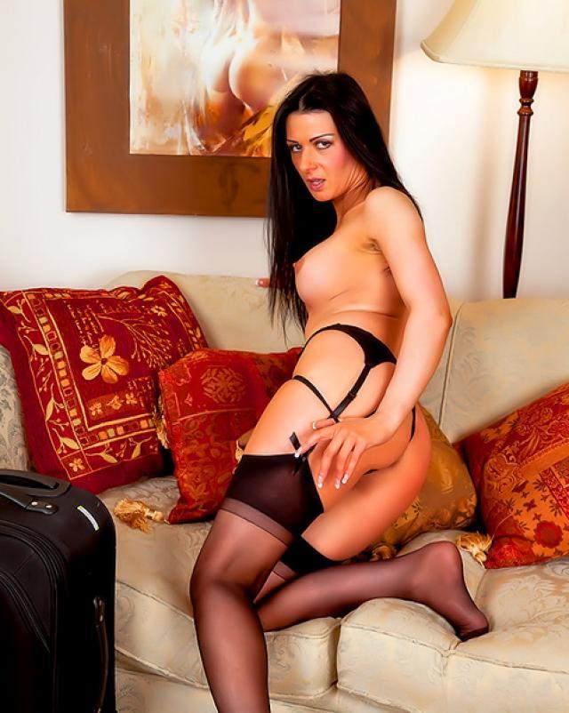 Порно фото голой стюардессы