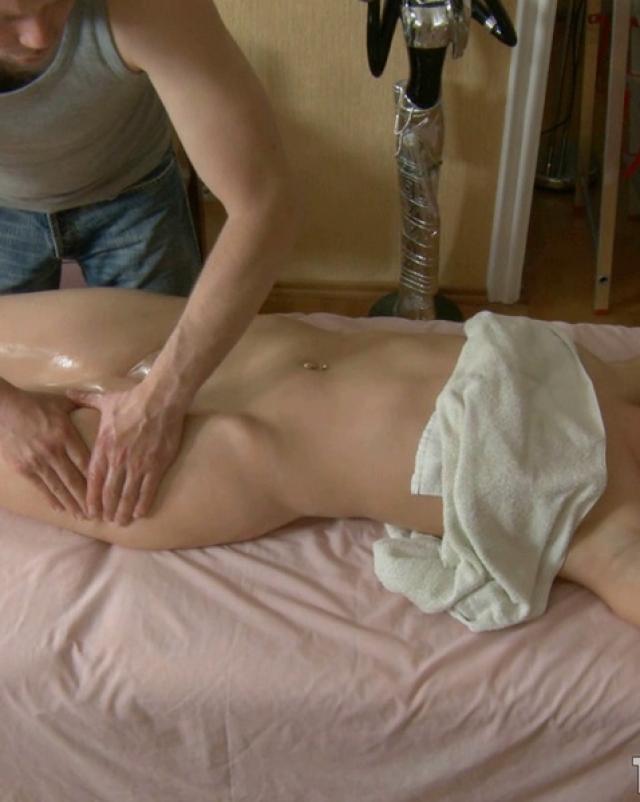 Секс фото красивой ебли в массажном кабинете