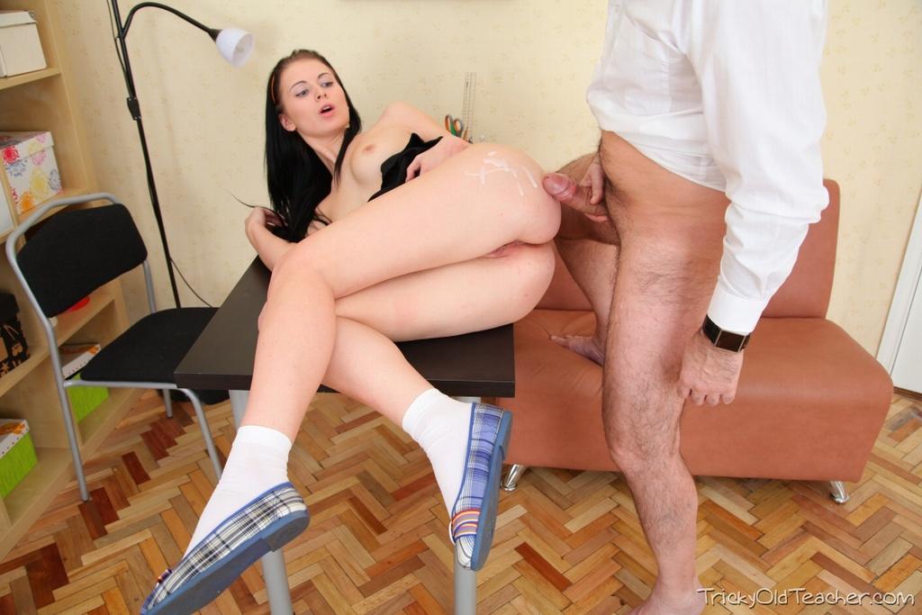 Nude old teacher porn