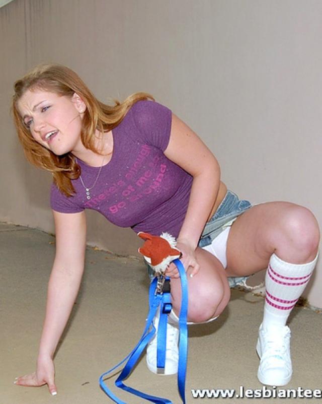 Лесбиянки экспериментируют с игрушками