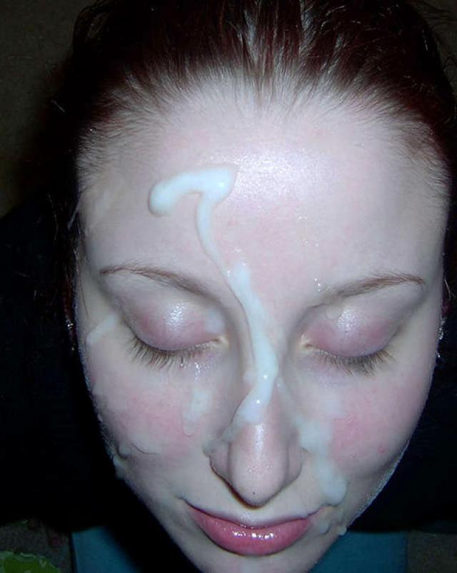 Домашняя подборка окончаний спермой на лицо девушек